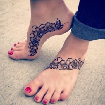 mooie tatoeages voor op voeten