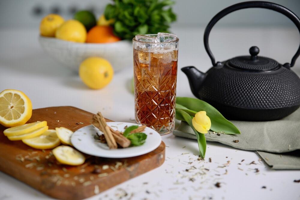 Ice tea met Tia Maria