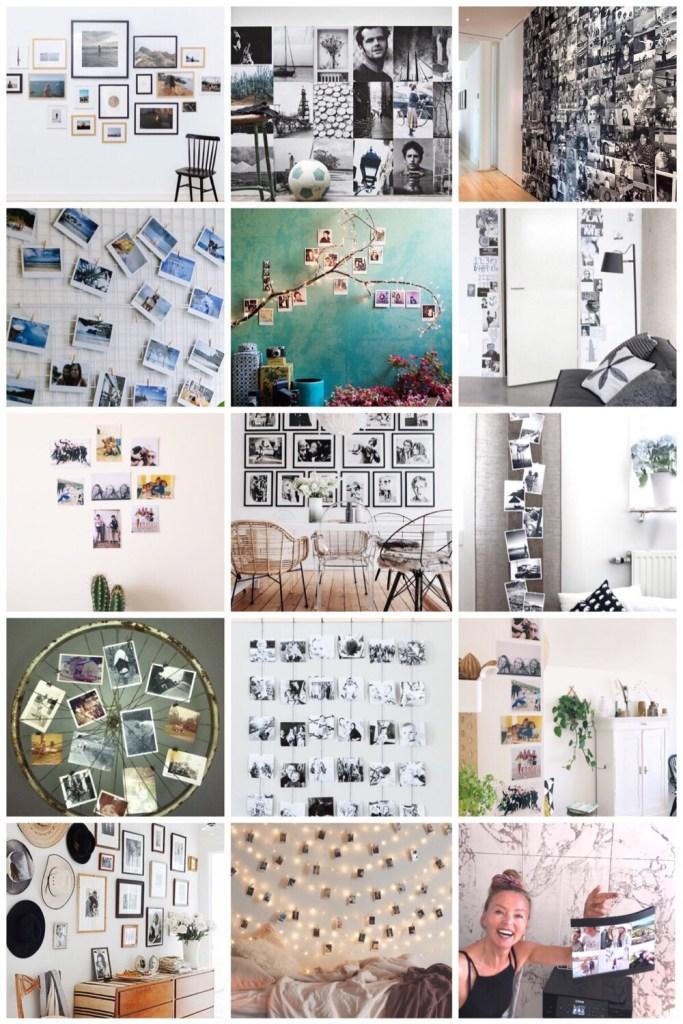 photo wall inspiratie