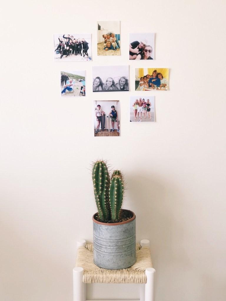 photo wall inspiratie strandhuisje