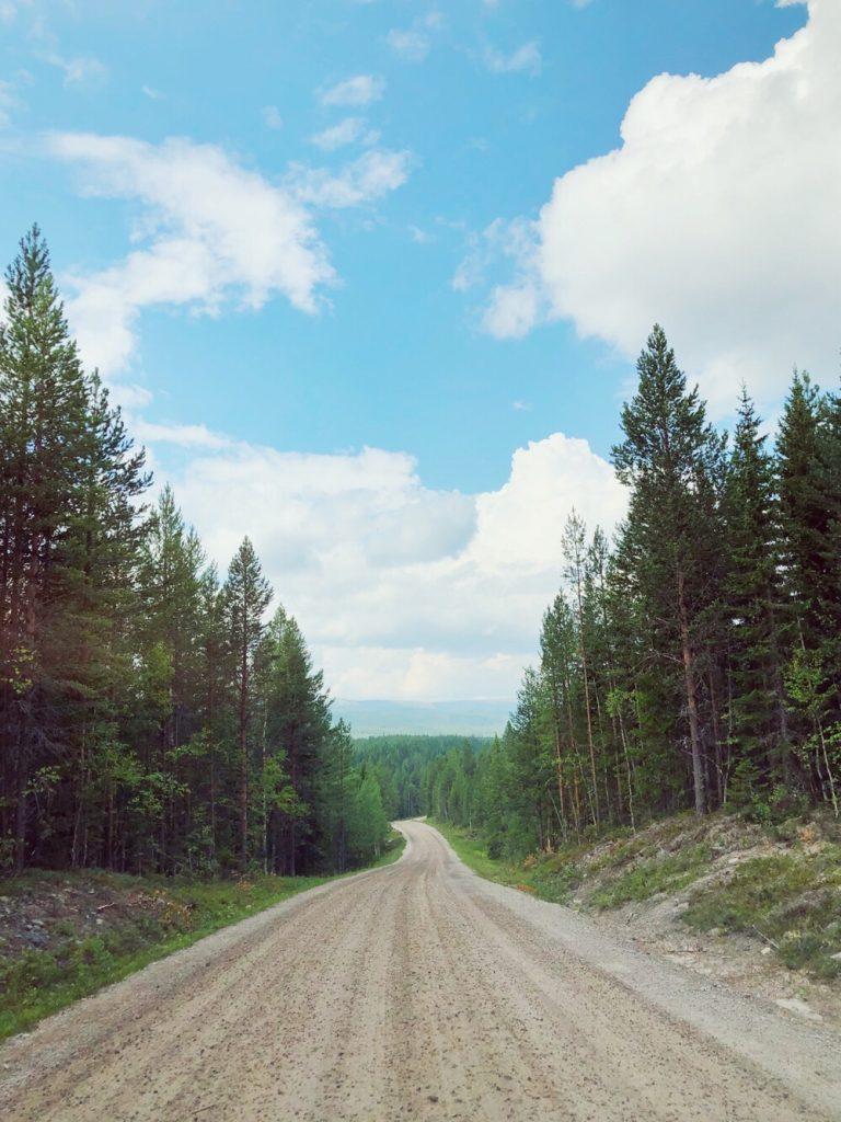 road to Fulufjället
