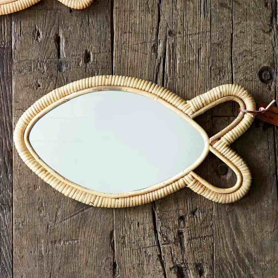 spiegel in visvorm
