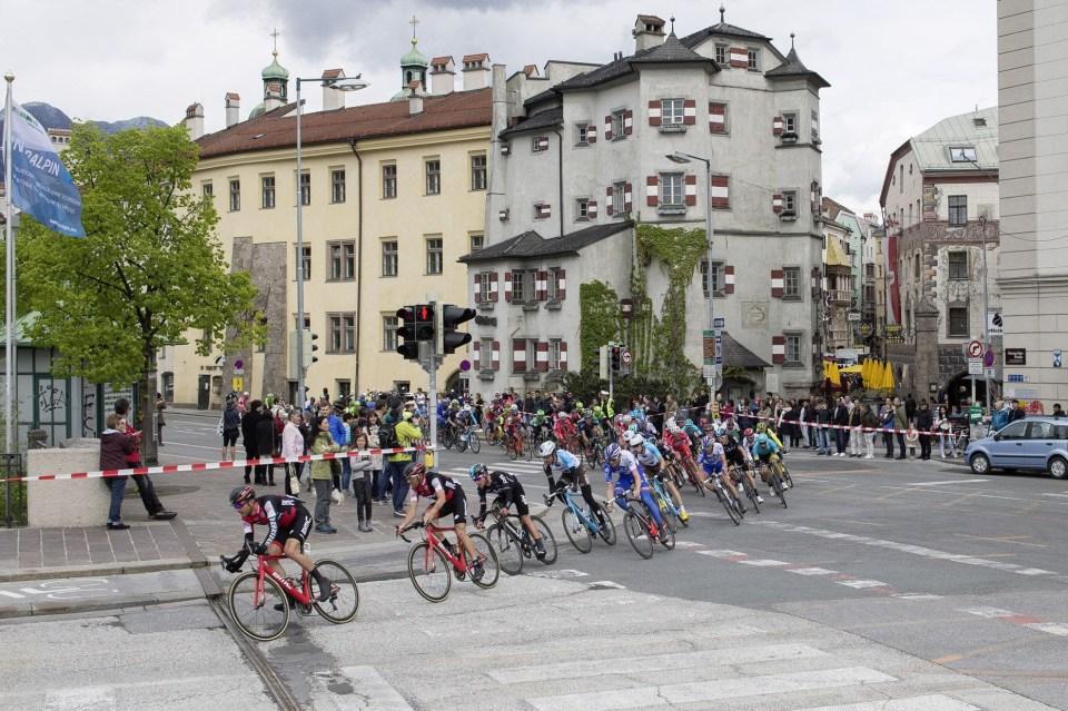 wk wielrennen Innsbruck