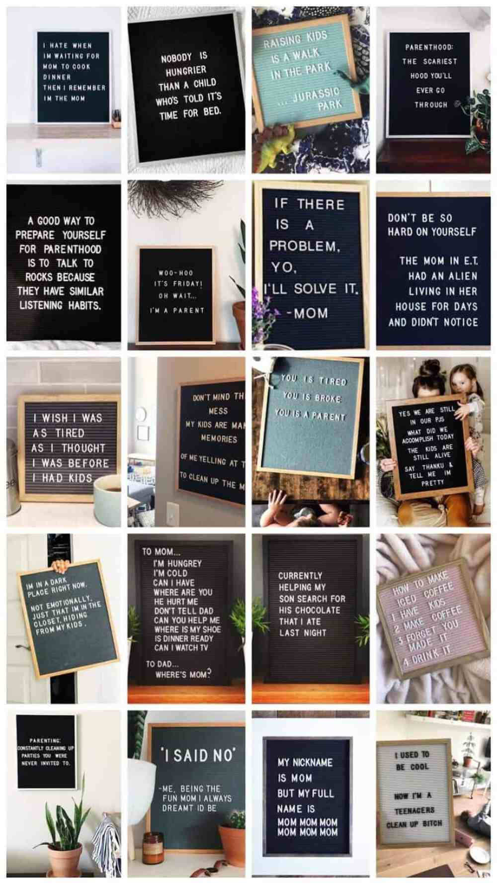 letterboard quotes