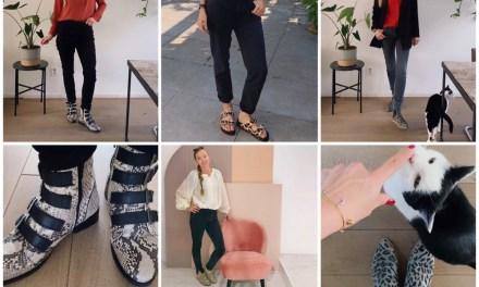 Outfitpost week 41: mom jeans en zwarte broeken
