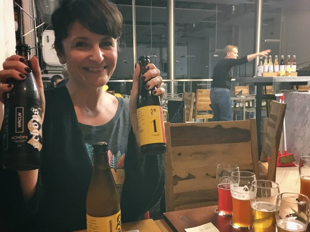 bierproeverij Wroclaw