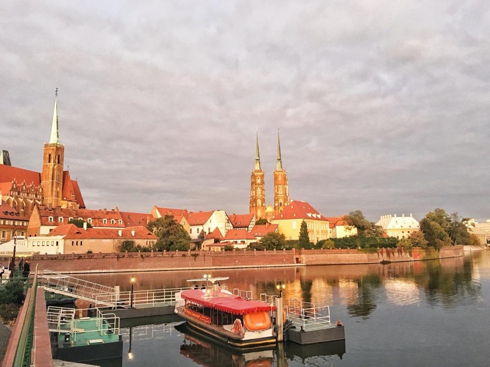 kathedraal eiland Wroclaw Polen