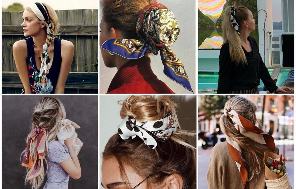 Pinterest trendspotting   Sjaaltjes in je haar (23x inspiratie)