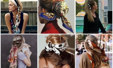 Pinterest trendspotting | Sjaaltjes in je haar (23x inspiratie)
