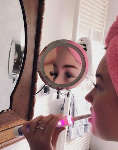 Mama Mia test Oral B