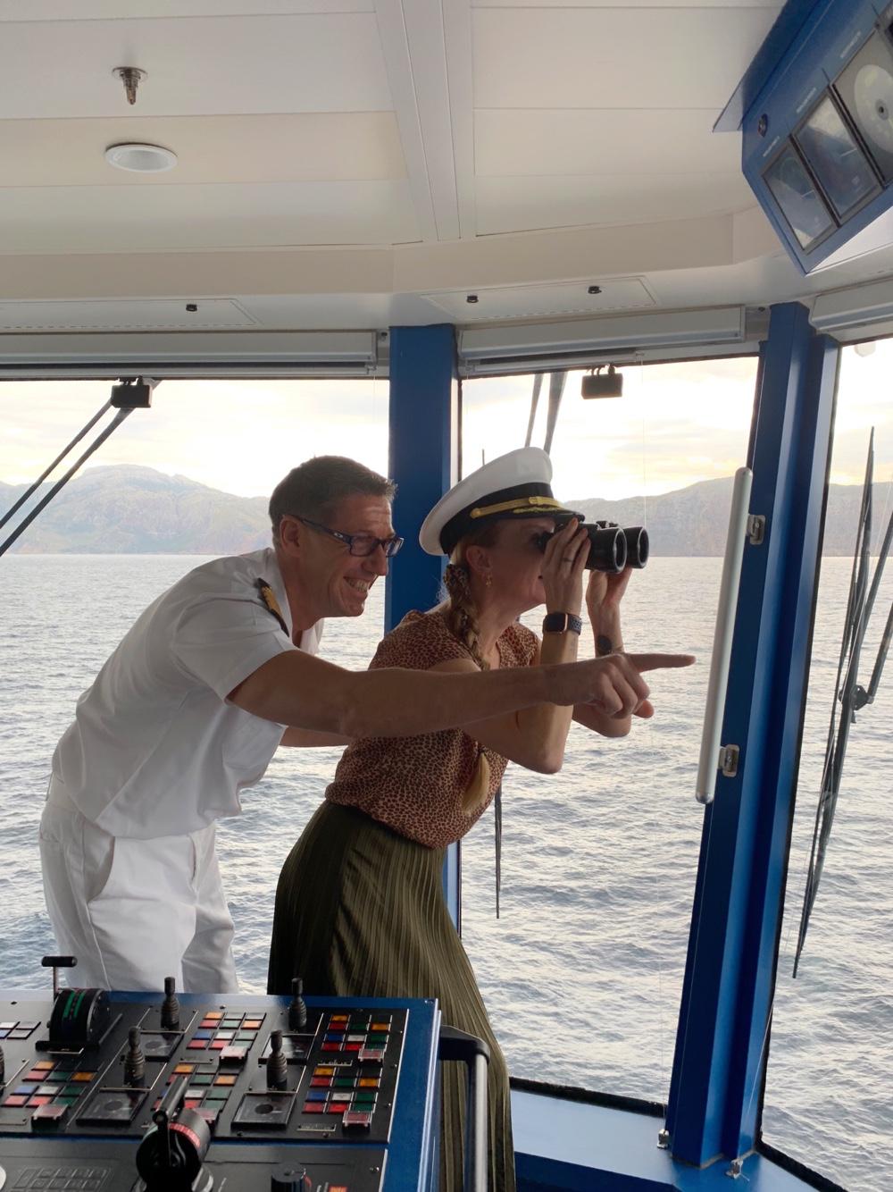 meet & greet Captain Norwegian Epic
