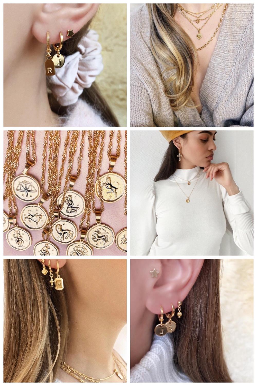 gouden sieraden van By Nouck