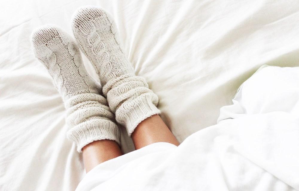 Slaaptips | slapen met sokken en zuivere lucht