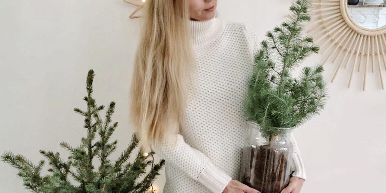 Simpele kleine kerstboom stylingtip