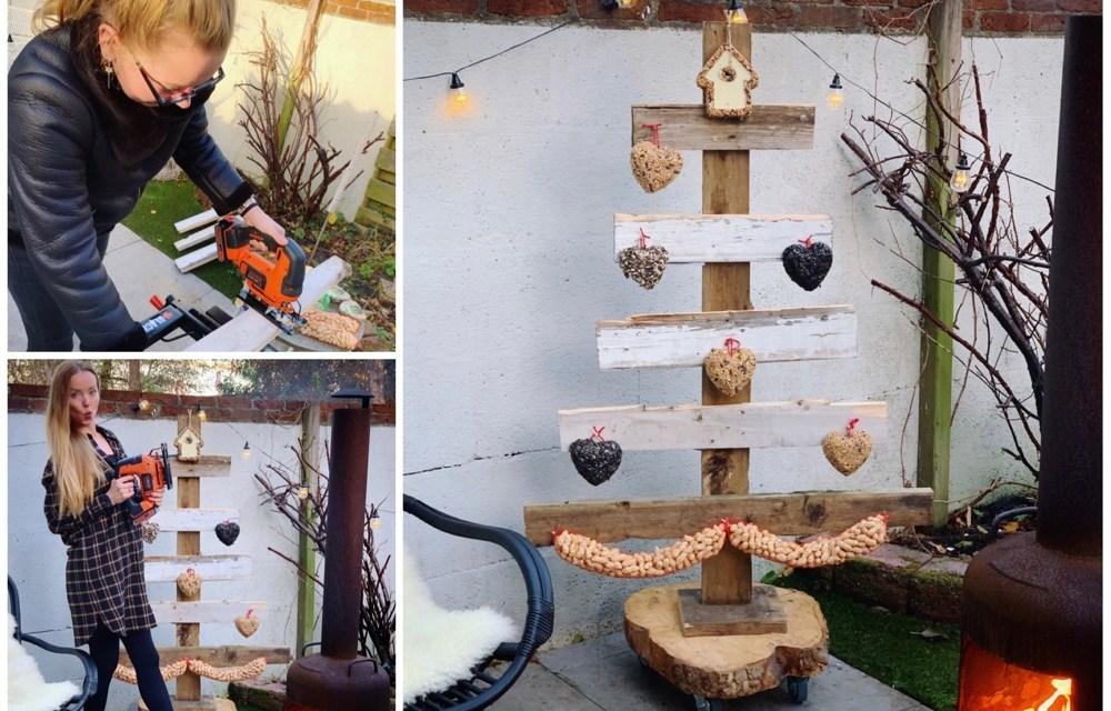 DIY | Kerstboom van sloophout
