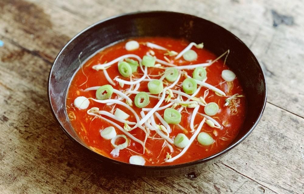 Slowcookerrecept voor Chinese tomatensoep