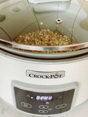 granola uit de slowcooker