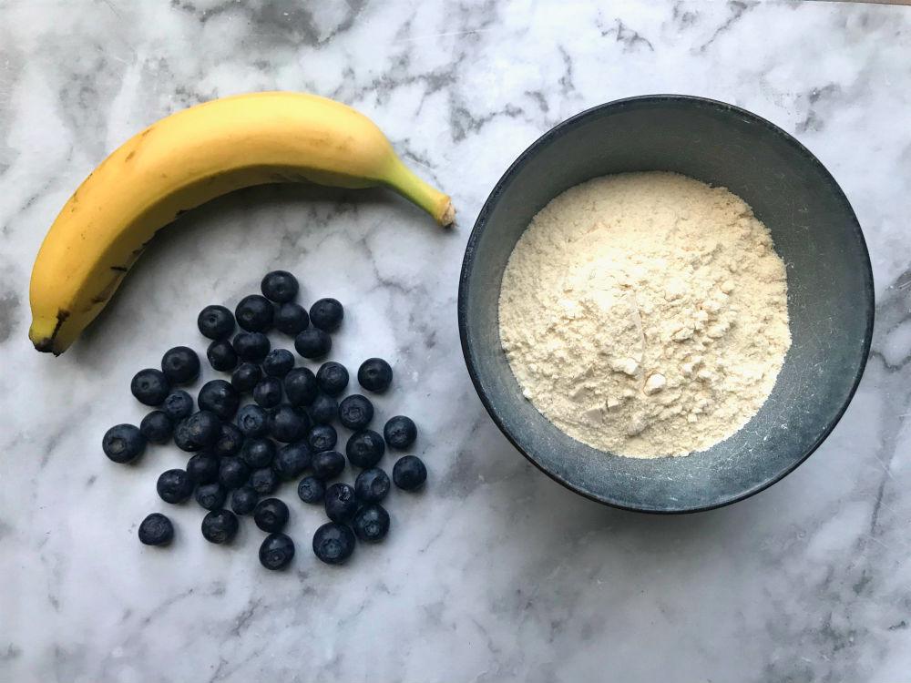 ingredienten banana pancake