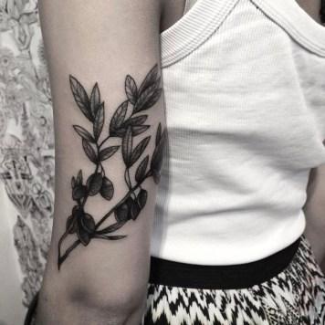 olijftak tatoeage
