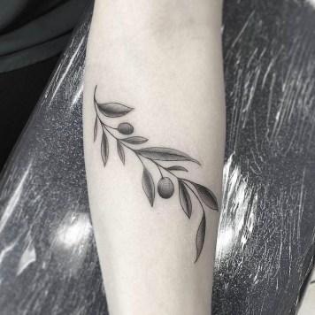 olijftak tattoos inspiratie