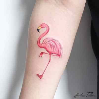 flamingo tattoos inspiration