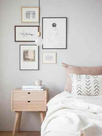 Scandinavische sfeer in de slaapkamer