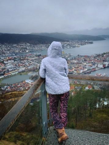 Mount Fløyen viewpoint