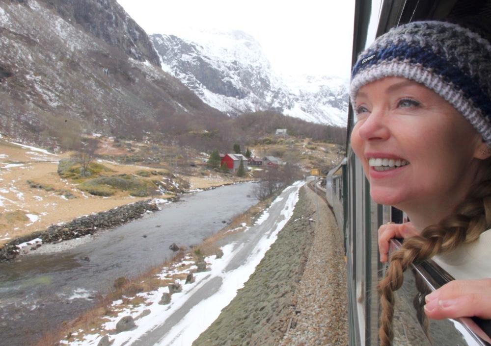 Flam train trip Norway