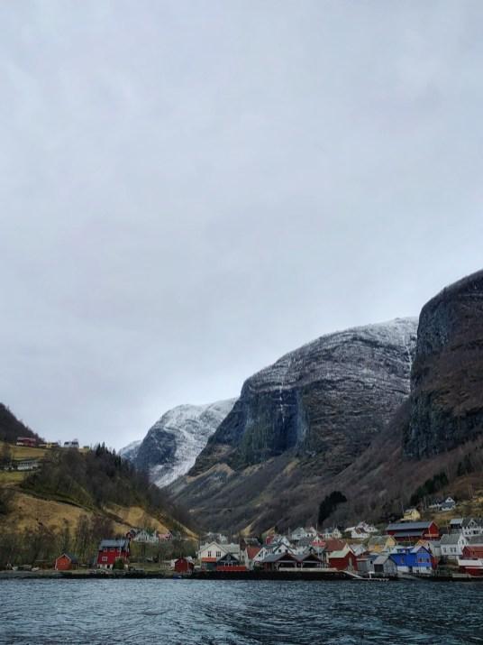 Fjord Undredal Norway