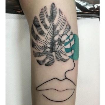 Monstera tattoo inspiration