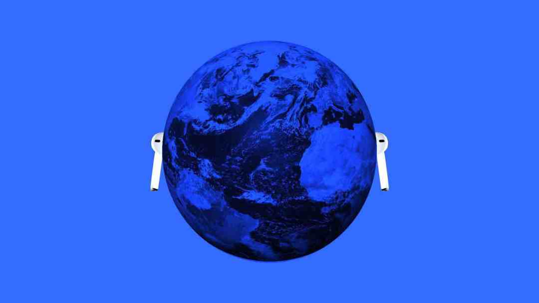 AirPods all over the world