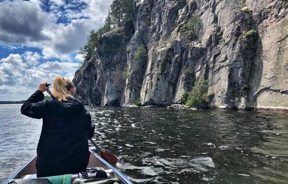 Kano avontuur in Zweden