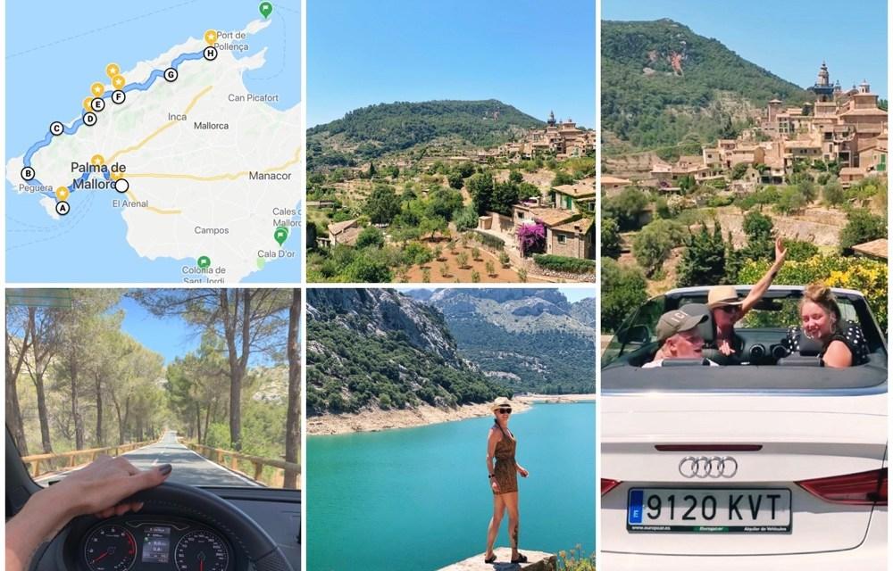 Mallorca roadtrip over de MA10