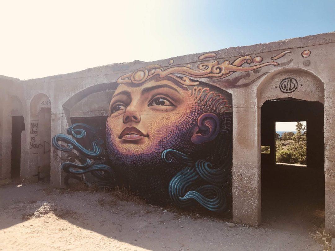 Alyko forest graffiti