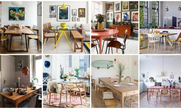 Eettafel inspiratie – 8x anders, toch dezelfde stijl