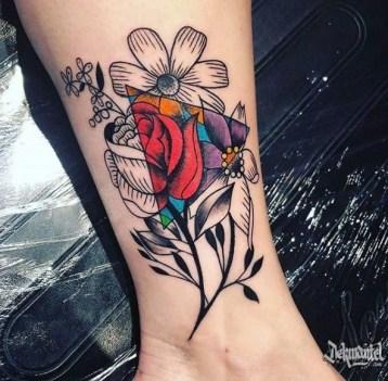 driehoek tattoo voorbeelden