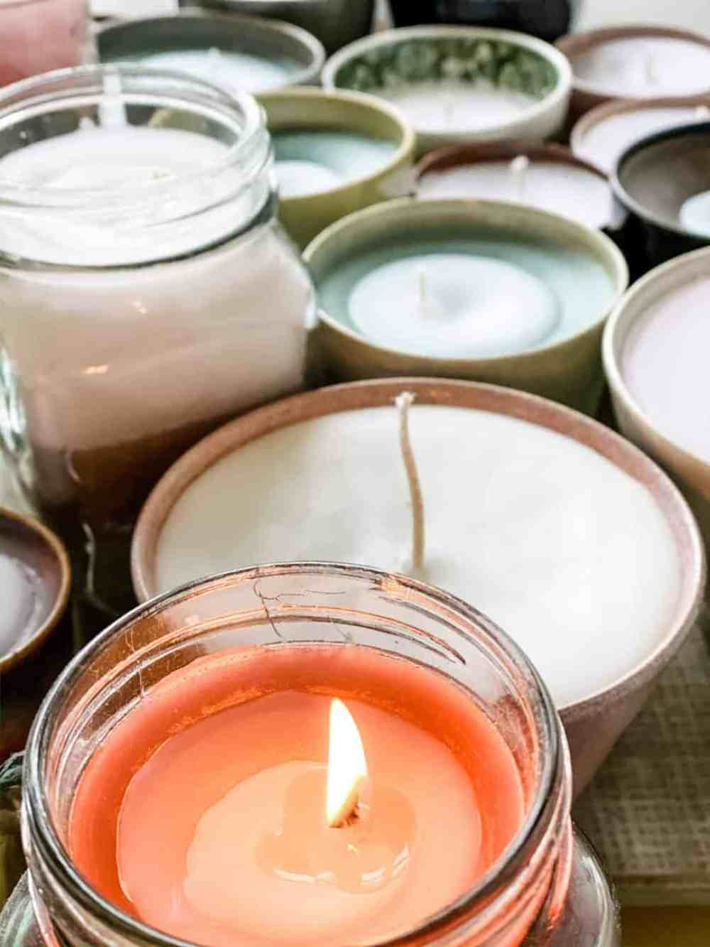 DIY kaarsen maken