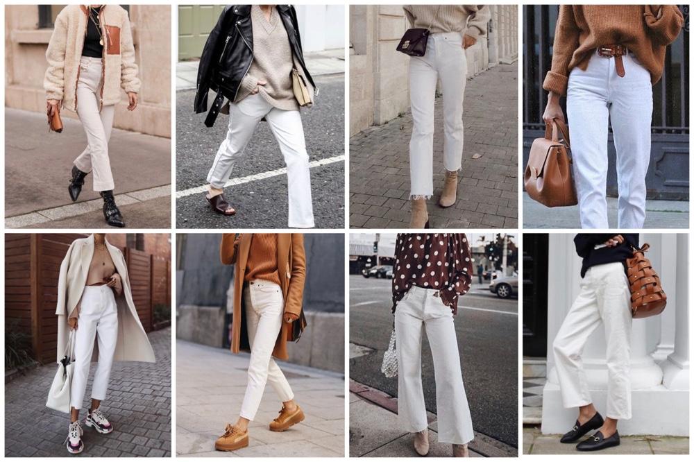 Fashionpost #62: zo style je de witte broek in de winter