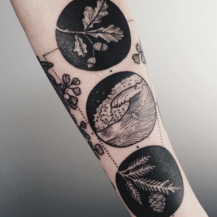 cirkel tattoos