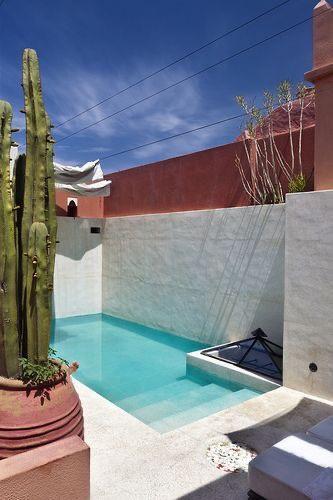 klein zwembadje voor tuin