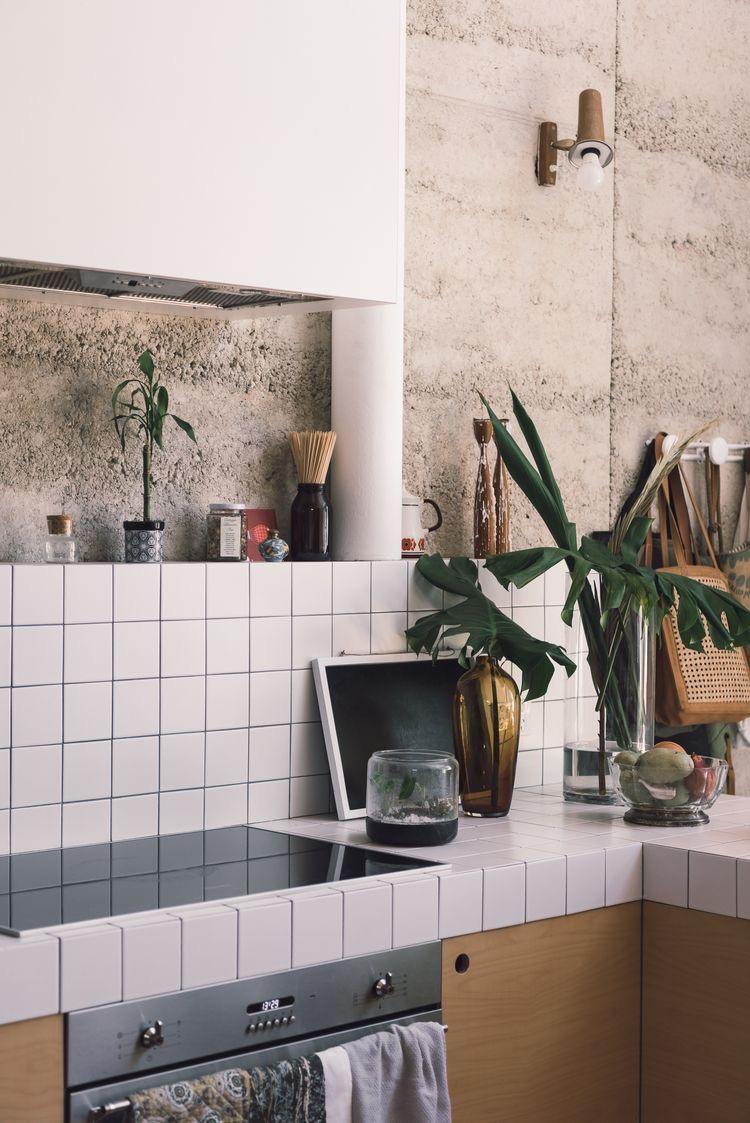 witte keukentegels