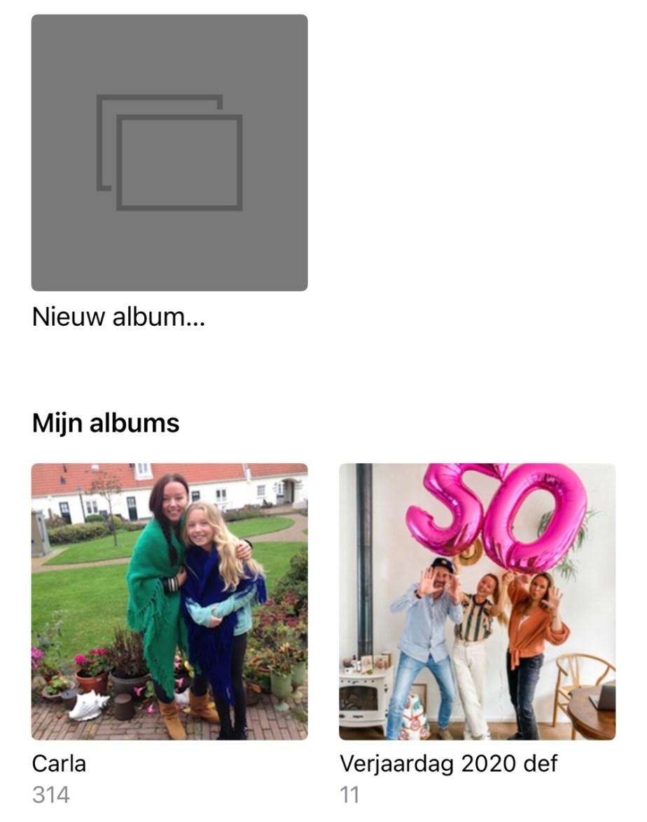 foto's zoeken op de iPhone