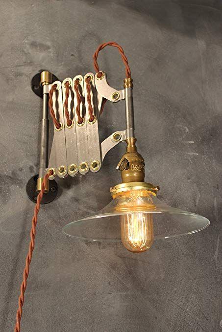 antieke schaarlamp