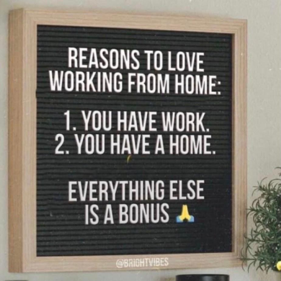 thuiswerkspreuk