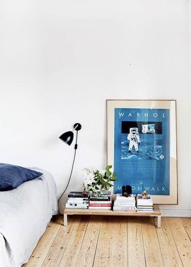 blauwe schilderijen