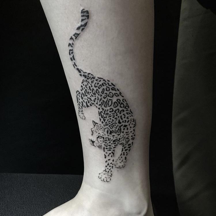 tattoo van een tijger