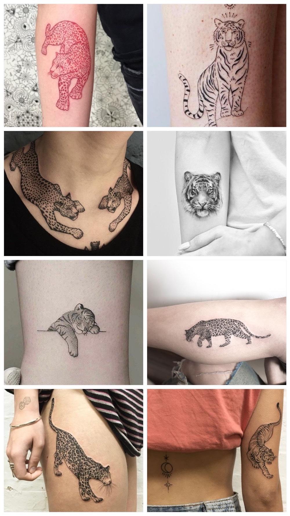 tijger tattoos