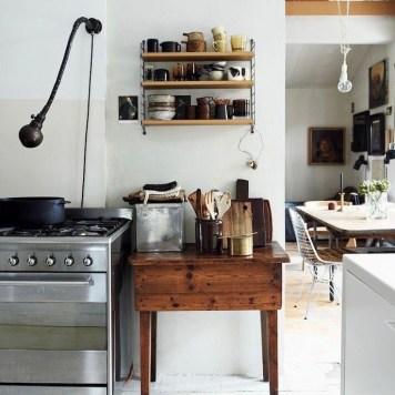 keuken moodboard antieke keukentafel