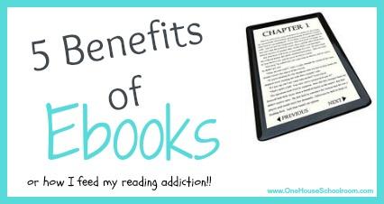 5 Benefits of Ebooks