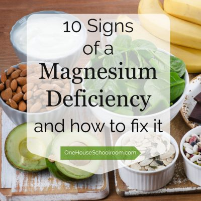 10 Signs of a Magnesium Deficiency
